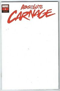 Absolute-Carnage-1-Blank-Variant-NM-Marvel