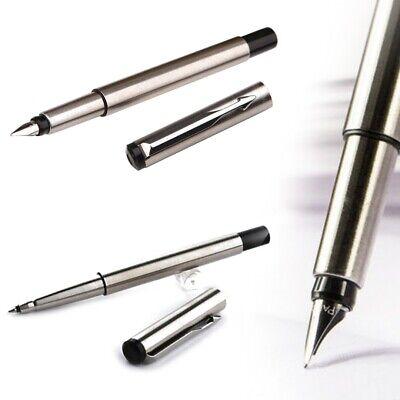 Silver Vector  Roller Ball Pen 0.7mm Medium  Nib Full Metal Rollerball Pen 1Pc