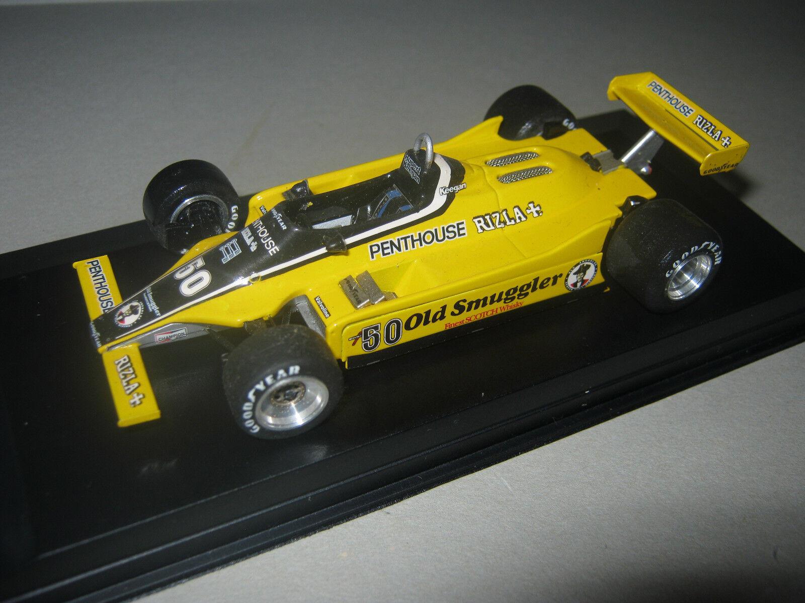 1 43 Williams fw07 Ford N 50 R. Keegan Australian GP 1980 in BRANDNEW Showcase