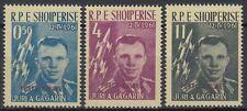 Albania Herzegowina 1962 ** mi.647/49a espacio Space Espace gagarin [sr2332]