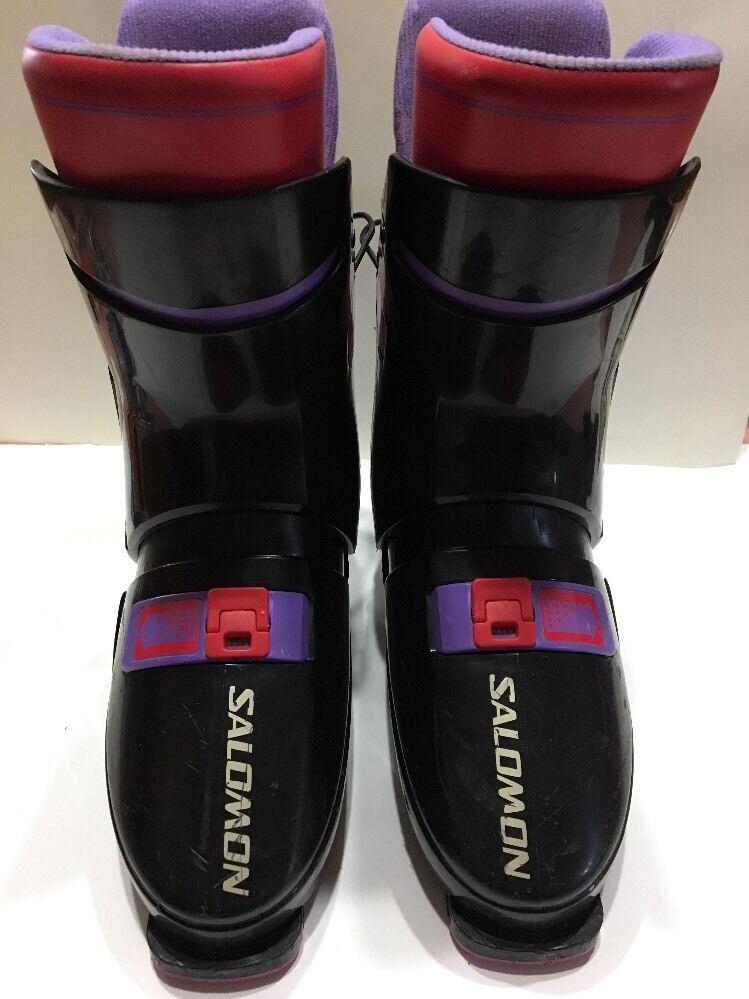 SALOMON Damenschuhe 520 SKI Stiefel EURO 29/US 12.5 AUTOFIT lila/Rosa VERY NICE