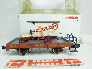 BO277-2-Maerklin-Spur-1-AC-80012-Museums-Wagen-1992-Sinsheim-Baden-NEUW-OVP