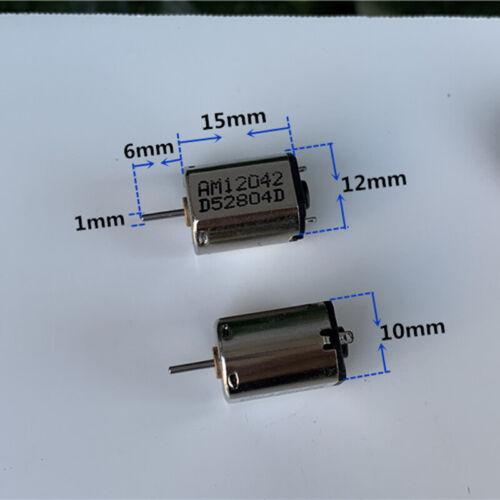 Micro N20 Motor DC 1.5V 3V 3.7V 30500RPM High Speed Mini 10mm*12mm Motor DIY Toy