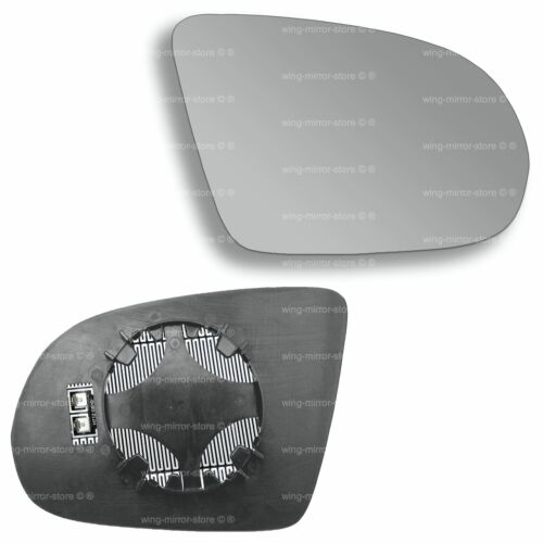 Right Driver side for Audi A8 2010-2017 wing mirror glass heated