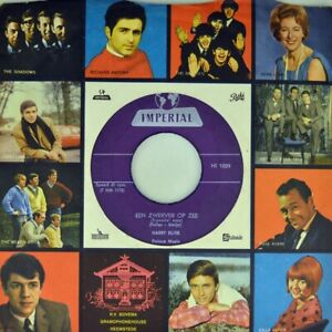 7-034-HARRY-BLIEK-Hello-Mary-Lou-CV-RICKY-NELSEN-Travelin-Man-IMPERIAL-Dutch-1961