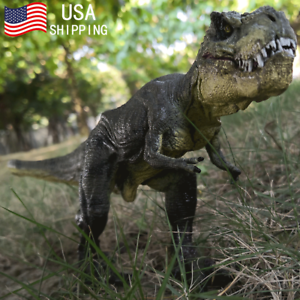 "12"" Large Tyrannosaurus Rex Dinosaur Toy Model Christmas Gift For Boy Kids T-Rex"