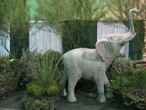 Details About 8 Ft Outdoor Fibergl Elephant Garden Fountain Statue