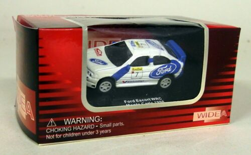 Widea 1//87 Scale Ford Escort WRC Monte Carlo Rally TINY 5CM/'s Diecast Model car