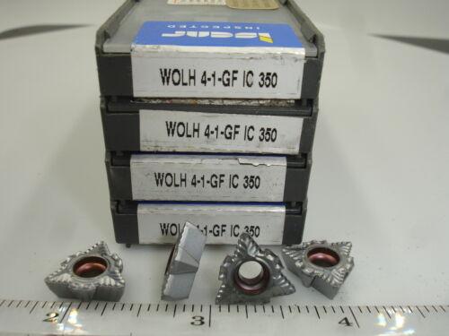 1383 WOLH 4-1 080404 GF IC350 ISCAR Carbide Inserts 10pcs