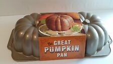 NWT Williams Sonoma NORDIC WARE Great Pumpkin Bundt Pan