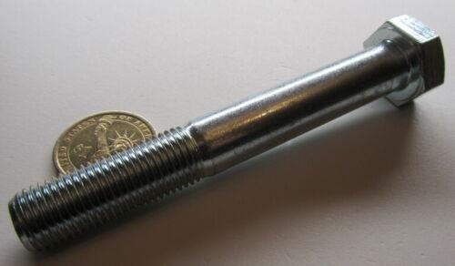 8.8 Zinc Plated Metric Cap Screw Bolt 3 Pc PT M14 x 1.5 x 100 mm Length