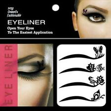 Tattoo Eye Shadow Eyelid + lip Transfers Eyeliner Sticker easy use eye liner uk