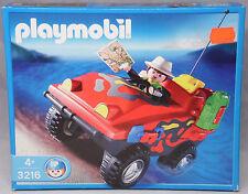 Playmobil Abenteuer Expedition 3216 Amphibienfahrzeug Fahrzeug Jeep NEU NEW RAR