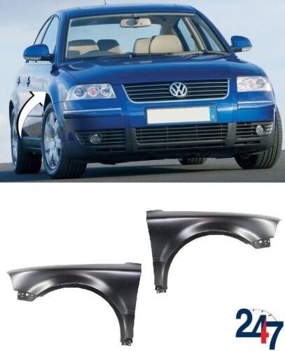 Nuevo VW Passat B5.5 01-05 Guardabarros Delantero Ala sin Agujero De Luz Intermitente Izquierda Derecha Par
