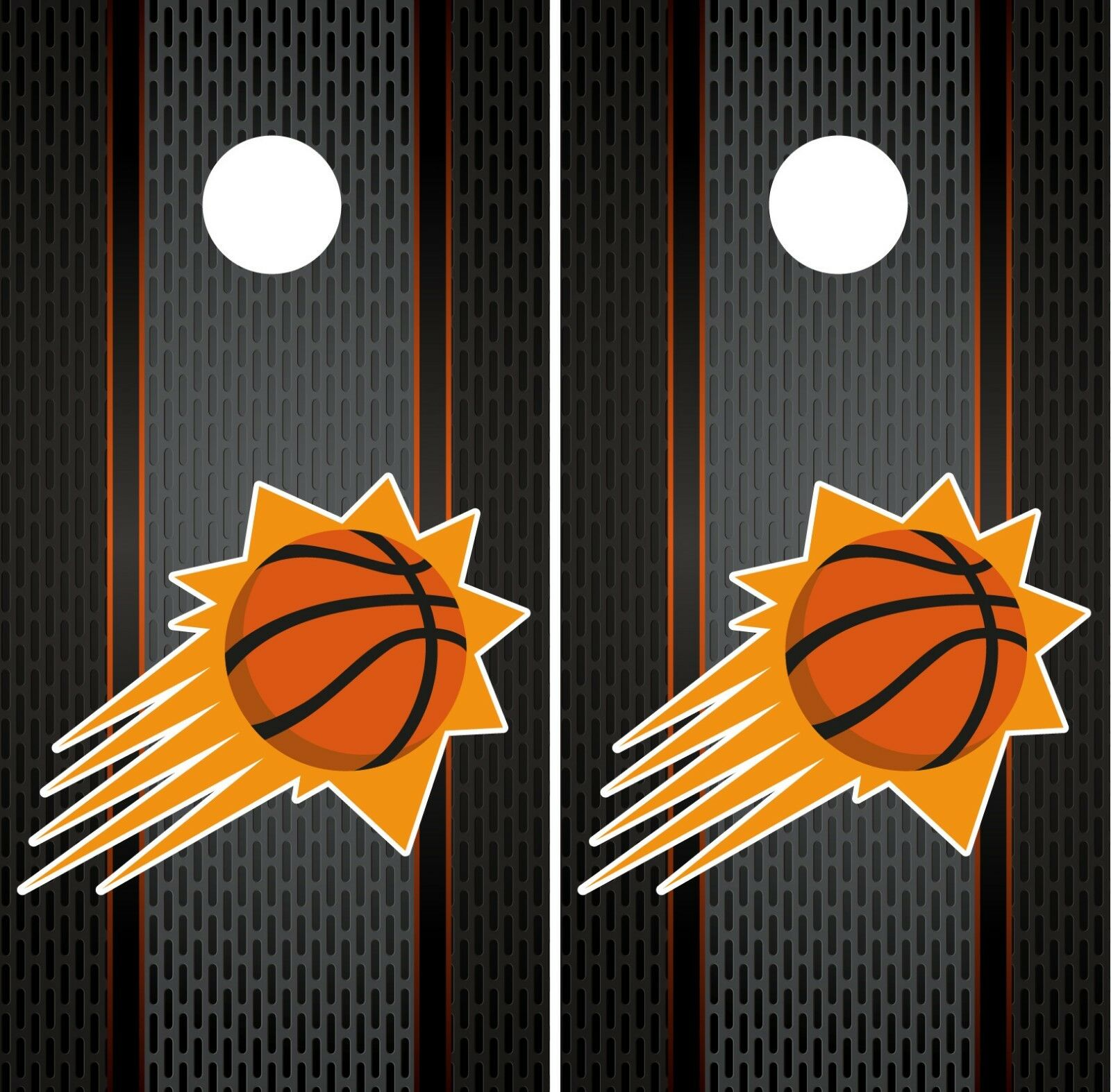 Phoenix Suns Cornhole Wrap NBA Game Board Skin Vinyl Decal Luxury Set CO693