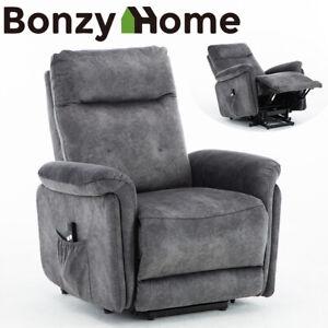 Electric-Lift-Assist-Recliner-Chair-Powered-Tilt-Control-Sofa-w-Remote-Control