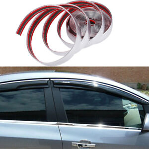 TRIM MOLDING made in the USA! CAR TRUCK SUV DOOR EDGE GUARDS CHROME