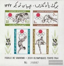 Afghanistan Block58 (kompl.Ausg.) postfrisch 1964 Olympische Sommerspiele 1964