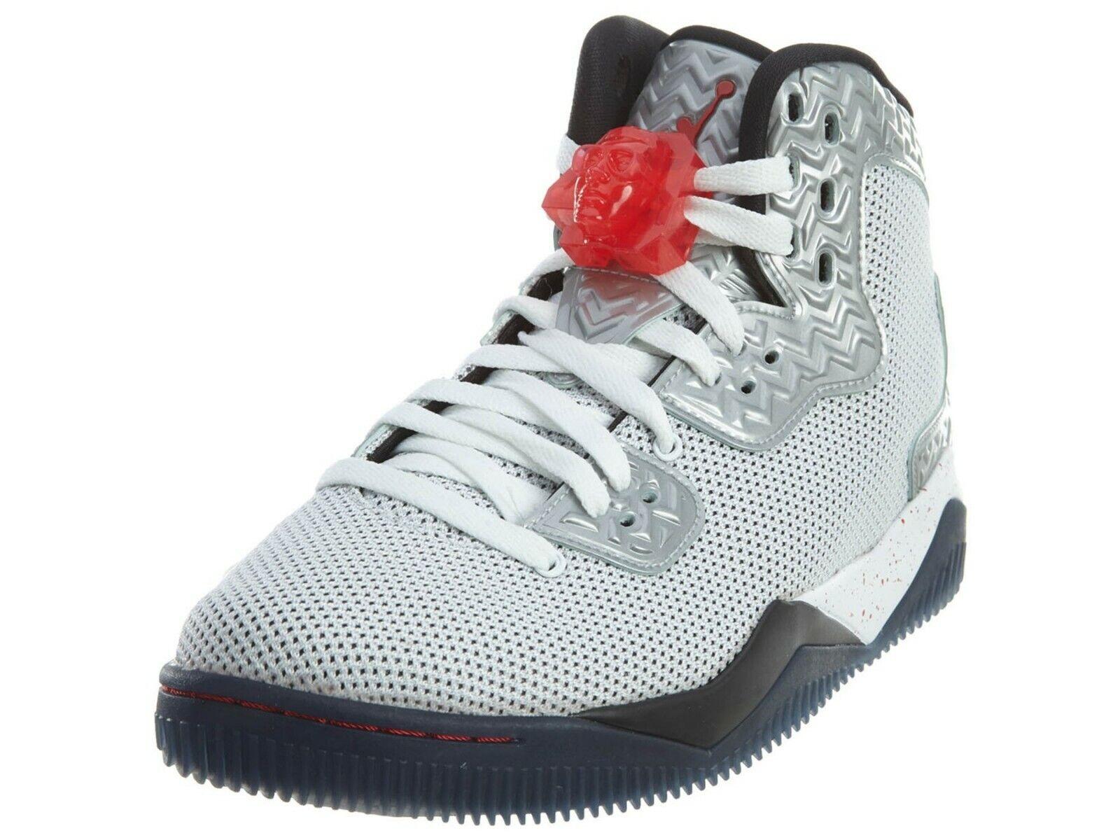 NIB AIR JORDAN Nike Air Jordan Spike Forty PE, White Fire Red Black - Size 12