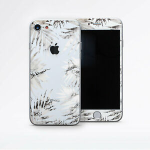 more photos f0c31 f3a38 Details about iPhone XS Max Marble Decal iPhone 6 7 8 Plus Leaves Sticker  iPhone 6s Gray Skin