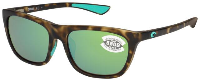 90fb0e3e0c Costa Del Mar Cheeca Polarized Sunglasses Cha249 OGMGLP Tortoise green  Glass 580