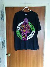Vintage Reading Festival t-shirt 1994 rock Cypress Hill Primal Scream RHCP XL