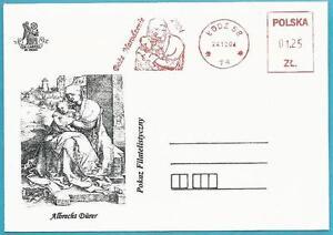 Polen-aus-2004-Briefstueck-mit-Freistempel-Albrecht-Duerer-Wihnachten