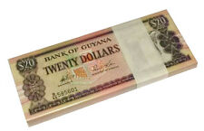 MINT GUYANA $20 DOLLARS ND 1996 P 30 UNC