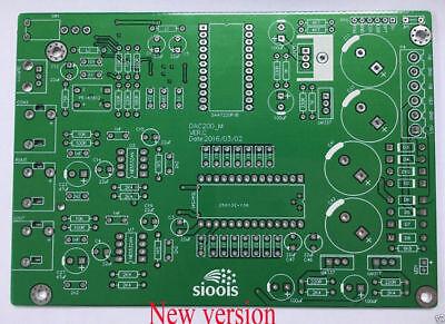 Optical DAC Decoder Decoding Board Bare PCB TDA1541+SAA7220+DIR9001 Coaxial