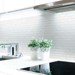Kuechenrueckwand-Ziegelwand-Weiss-Premium-Hart-PVC-0-4-mm-selbstklebend