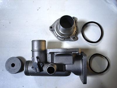 Engine Coolant Thermostat Housing URO Parts fits 00-02 Jaguar S-Type 4.0L-V8