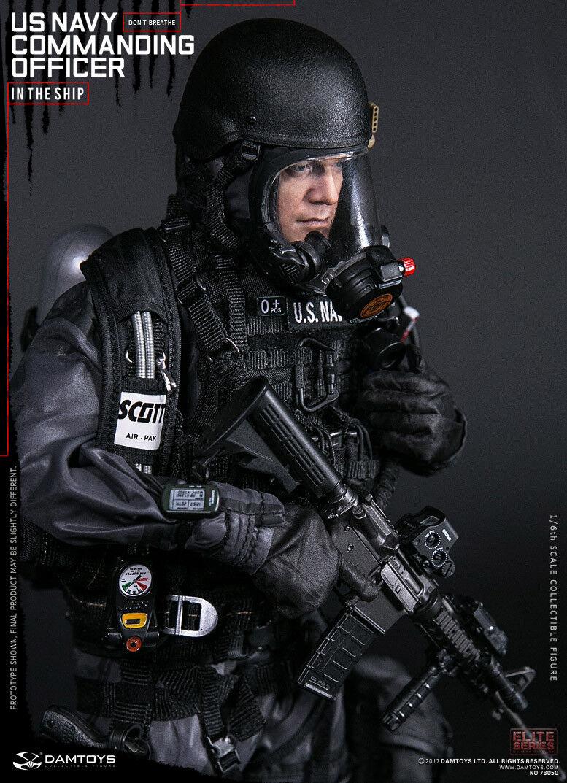 DAM Toys 78050 US Navy Commanding Officer