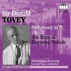 Sir Donald Tovey: Symphony in D, Op. 32; The Bride of Dionysus - Prelude (CD, Feb-2006, Toccata Classics)