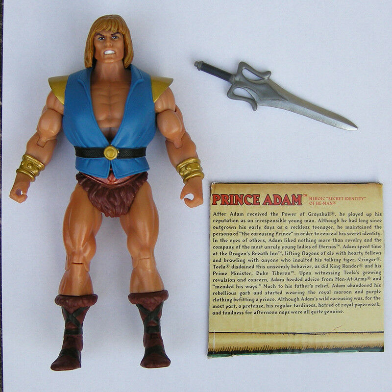 MOTU Power Con 2017 Prince Adam figure Masters of the Universe Classics MOTUC