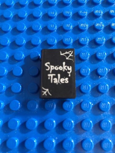 "Lego Minifig Utensil Book /""Spooky Tales/"" Pattern"