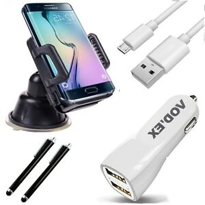 5in1-Auto-Set-Ladekabel-KFZ-Halterung-Pen-HS1-Fuer-Samsung-Galaxy-S7-Edge-G935