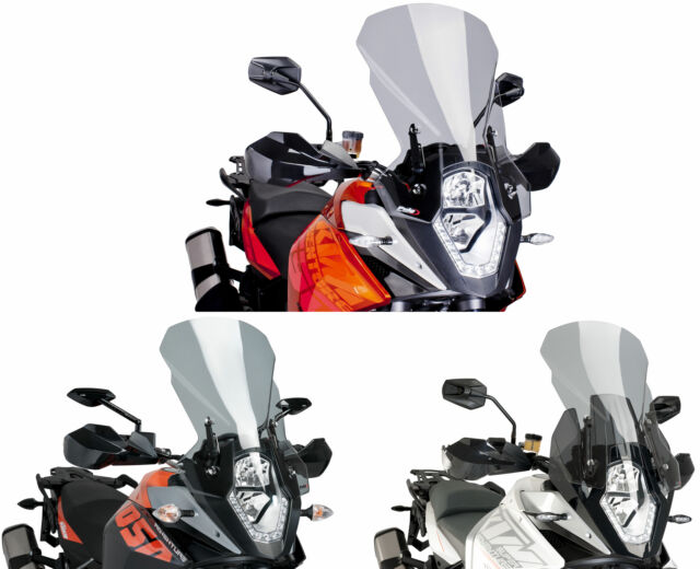 KTM 1190 ADVENTURE 2013 > PUIG SCREEN SMOKE TOURING WINDSCREEN