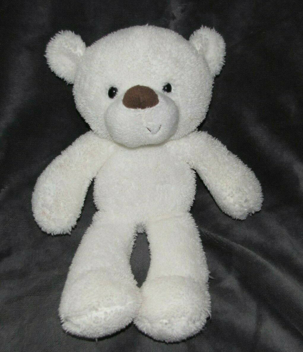 G5.0 G 5.0 Gund White White White Stuffed Plush Take Along Teddy Polar Bear 4037905 15  9  83e