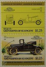 1916 HUDSON SUPER SIX Car Stamps (Leaders of the World / Auto 100)
