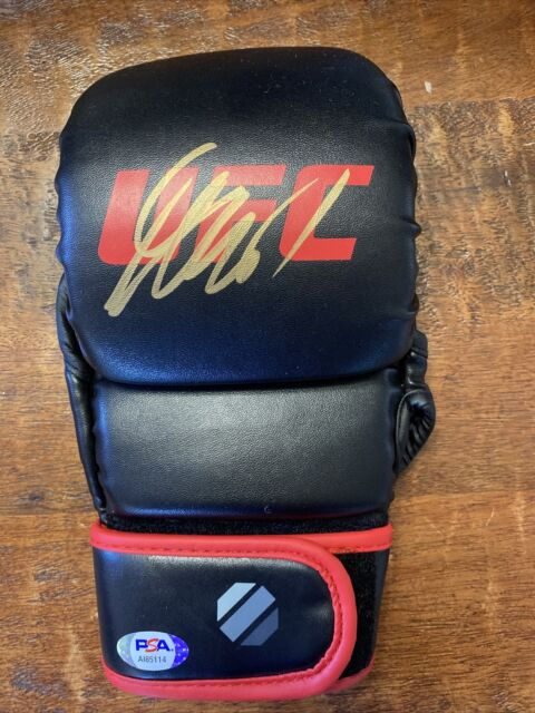 Georges St Pierre Signed MMA Fight Glove Psa Dna COA UFC Autographed GSP Rush