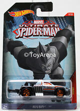 Hot Wheels Marvel Ultimate Spider-Man 2015 Repo Duty 1/64 Rare Die-Cast Car