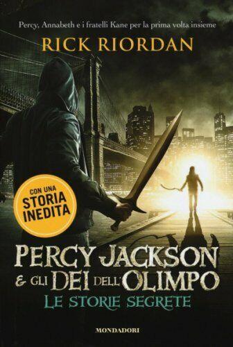 LIBRO PERCY JACKSON E GLI DEI DELL'OLIMPO. LE STORIE SEGRETE - RICK RIORDAN