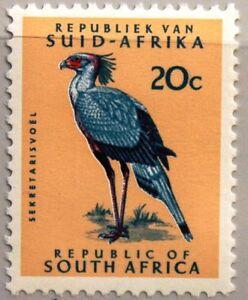 RSA Sudafrica South Africa 1973 438 esenzione marchio uccelli Bird fauna definitive MNH