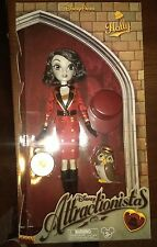 Disney Parks Hollywood Tower Hotel Bell Hop Holly Doll Attractionista Gift NIB