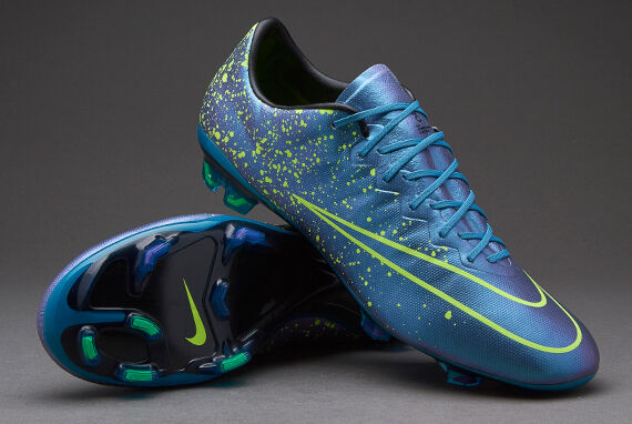 Nike Mercurial Vapor X FG Soccer Cleats Style 648553-441 MSRP  200+