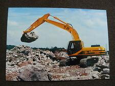 JCB Raupenbagger JS 200 LC - Pressefoto Werk-Foto pressfoto (J0004