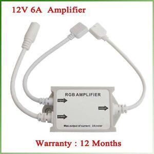 12V-6A-Waterproof-RGB-Amplifier-5050-RGB-SMD-Led-Strips