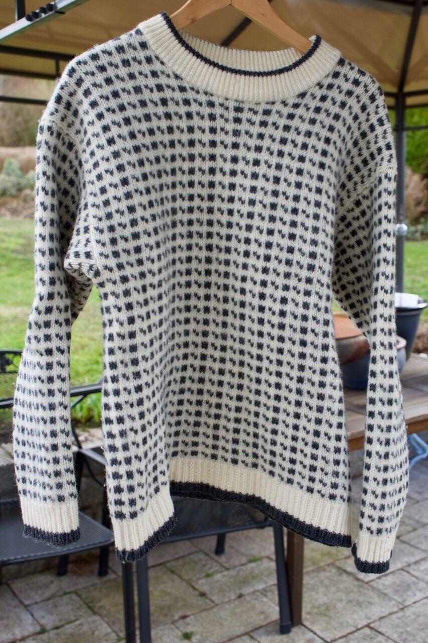 Everest Winter-Pullover - Large - 100% 100% 100% Wolle - Echt Retro   Vintage - Gr. M   L | Klein und fein  d5ed13
