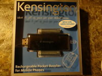 Kensington Usb Rechargeable Pocket Battery For Cell Phone Pda Mp3