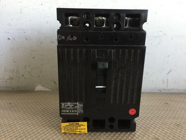 TED134020WL GE 20 Amp 480v 3 Pole Circuit Breaker for sale online